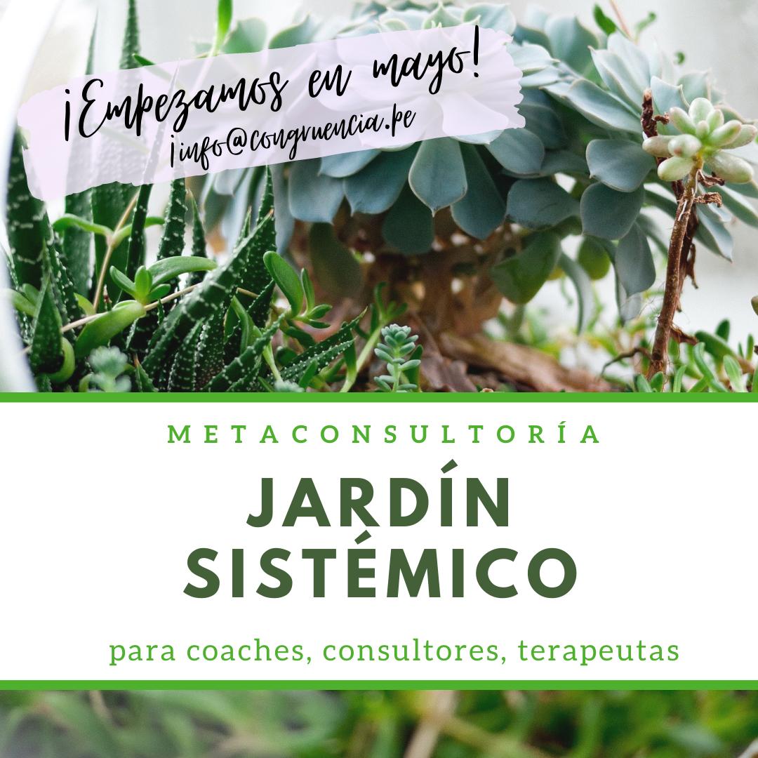 #JardínSistémico