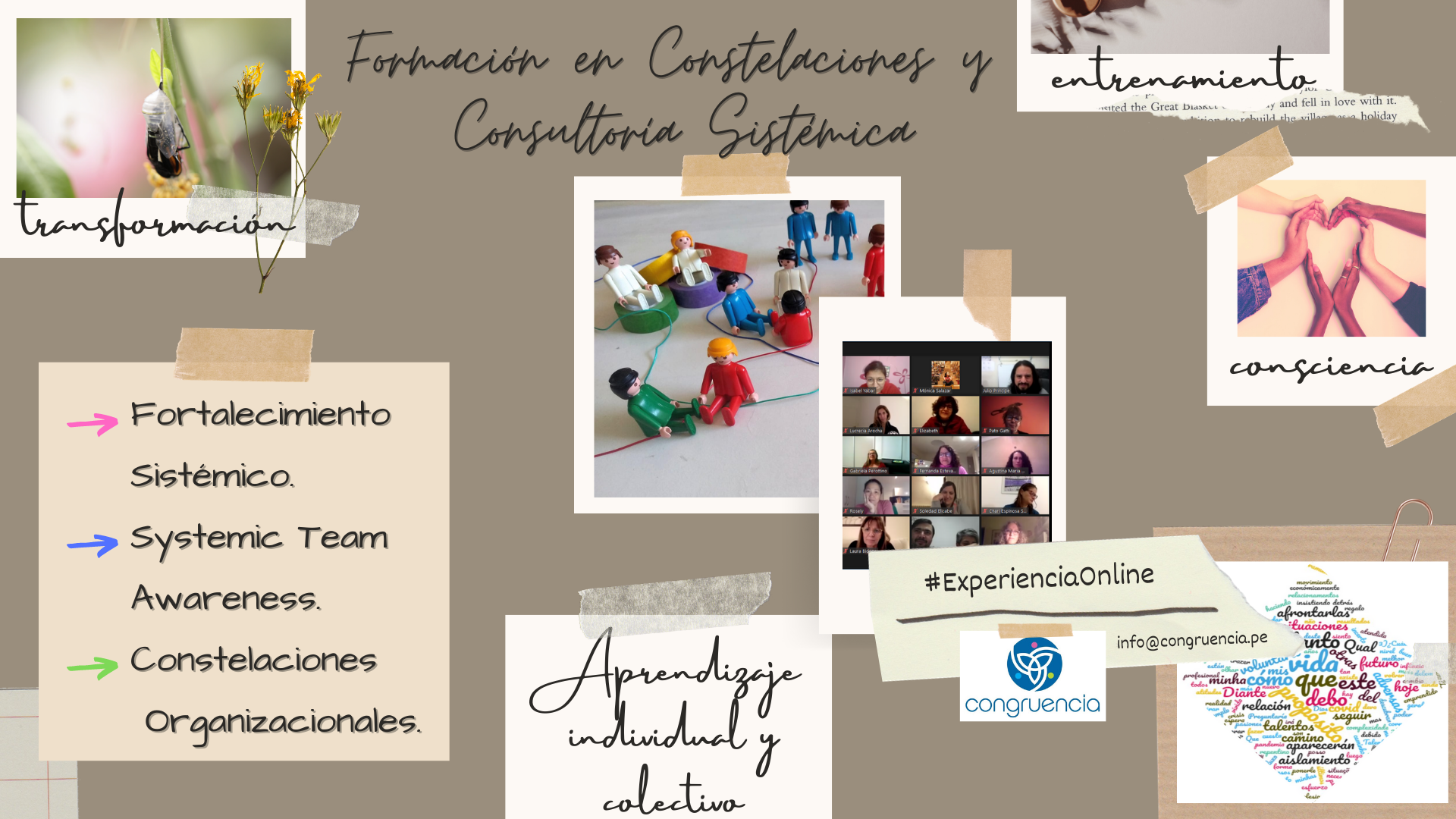 Formación en Constelaciones Organizacionales y Consultoría Sistémica #ExperienciaOnline