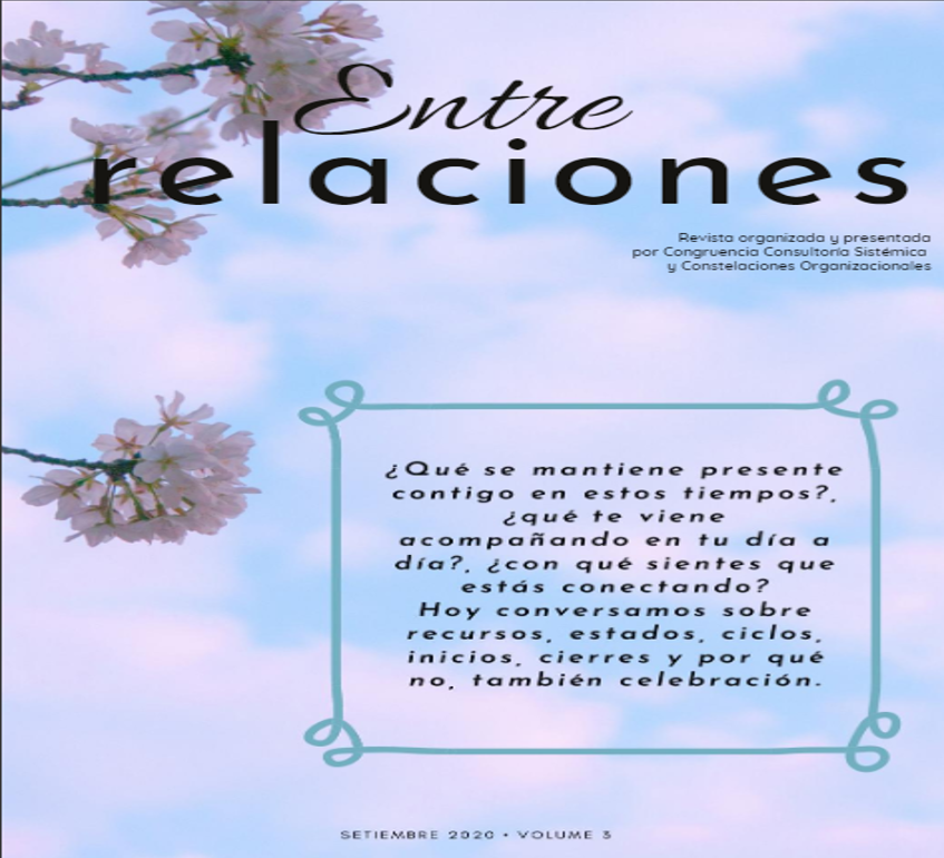 EntreRelaciones - magazine sistémico tercera edición